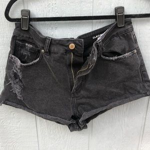 Black Denim Shorts - DL1961 Cleo Shorts